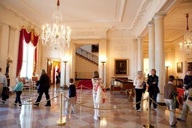 Tận mắt xem nơi ở đặc biệt của các Tổng thống Mỹ bên trong Nhà Trắng - 2