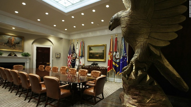Tận mắt xem nơi ở đặc biệt của các Tổng thống Mỹ bên trong Nhà Trắng - 7