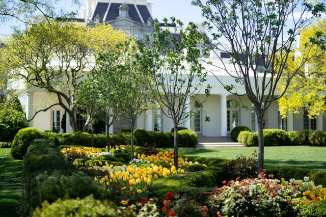 Tận mắt xem nơi ở đặc biệt của các Tổng thống Mỹ bên trong Nhà Trắng - 8