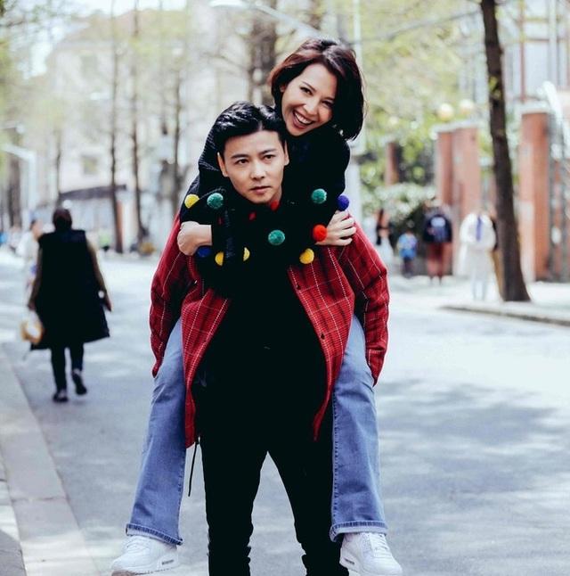 Thái Thiếu Phân hạnh phúc làm mẹ ở tuổi 47 - 6