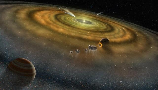 Hệ Mặt trời thực sự hình thành cách đây bao lâu? - 1
