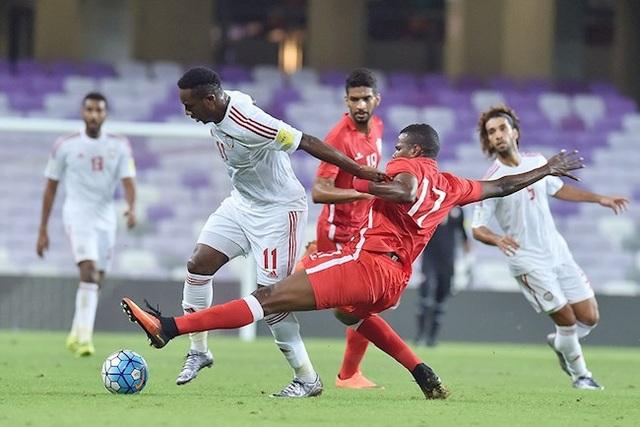 Đội tuyển UAE gây thất vọng khi để thua Bahrain trên sân nhà - 1