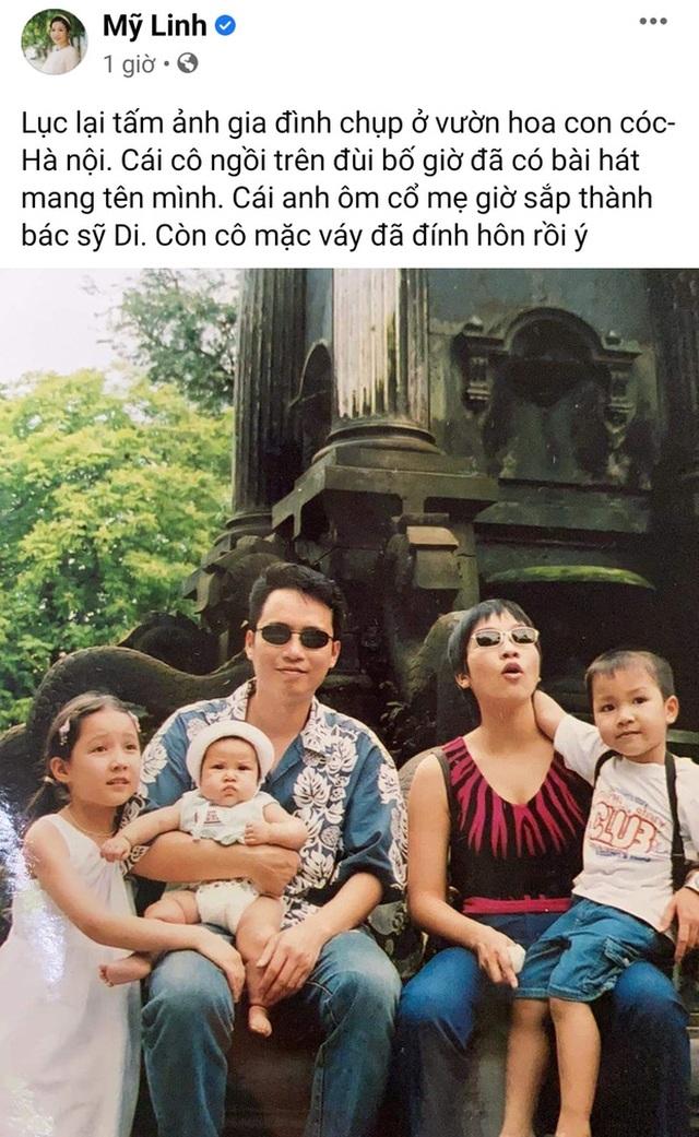 Con gái ca sĩ Mỹ Linh đính hôn - 1