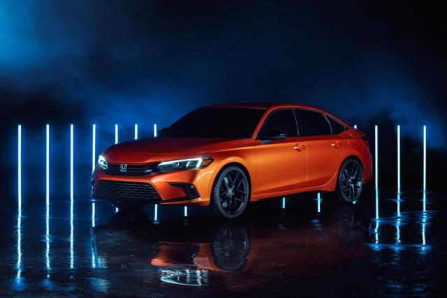 Honda Civic thế hệ mới 2022 chính thức ra mắt, giống Accord thu nhỏ - 1