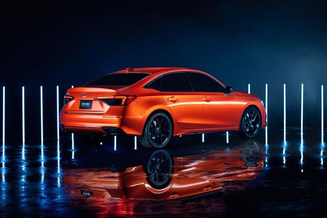Honda Civic thế hệ mới 2022 chính thức ra mắt, giống Accord thu nhỏ - 5