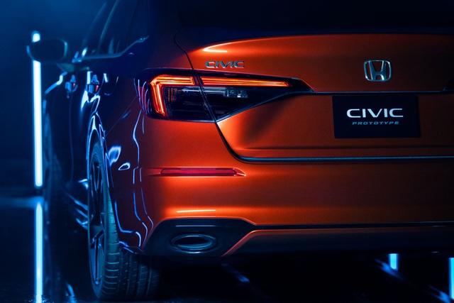 Honda Civic thế hệ mới 2022 chính thức ra mắt, giống Accord thu nhỏ - 7