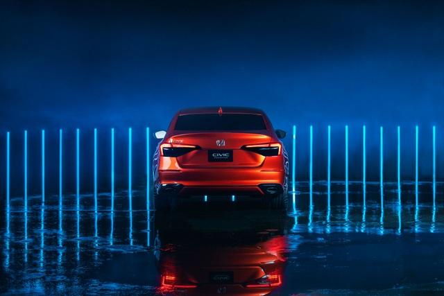 Honda Civic thế hệ mới 2022 chính thức ra mắt, giống Accord thu nhỏ - 6