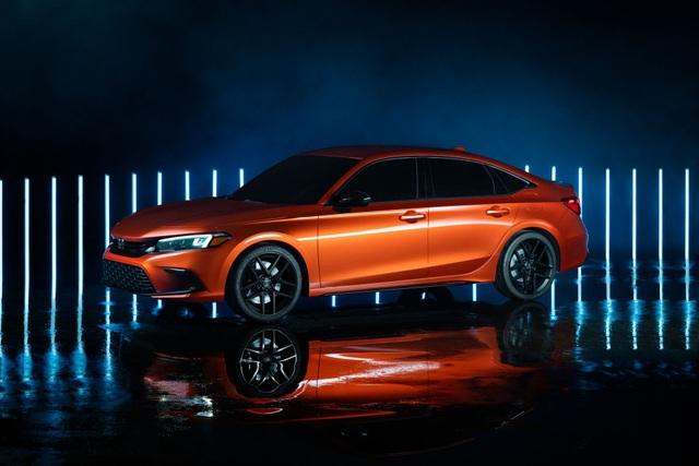 Honda Civic thế hệ mới 2022 chính thức ra mắt, giống Accord thu nhỏ - 3