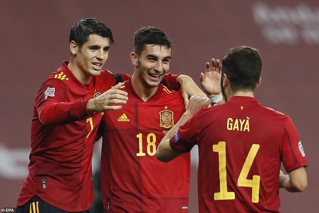 Tây Ban Nha 6-0 Đức: Cú hattrick của Ferran Torres - 7