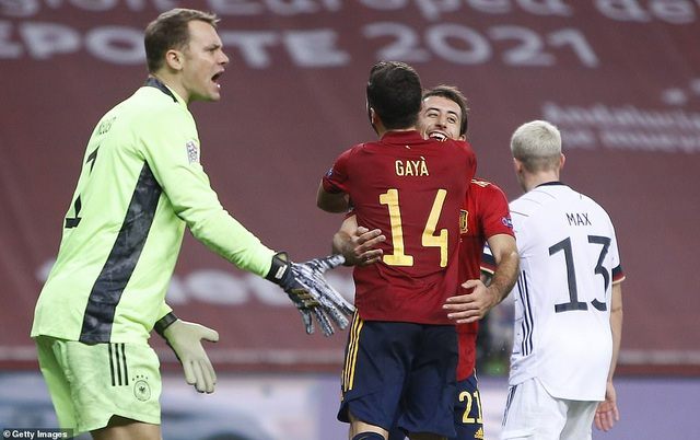 Tây Ban Nha 6-0 Đức: Cú hattrick của Ferran Torres - 9