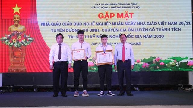 Bình Định: Vinh danh thí sinh đạt giải trong kỳ thi kỹ năng nghề quốc gia - 3