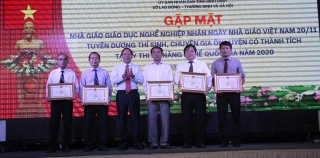 Bình Định: Vinh danh thí sinh đạt giải trong kỳ thi kỹ năng nghề quốc gia - 2
