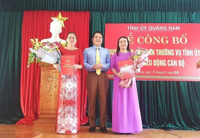 Quảng Nam bổ nhiệm Giám đốc Sở LĐ-TBXH - 1