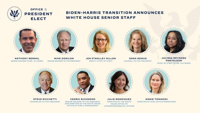 Ông Biden bổ nhiệm 9 vị trí cấp cao dù ông Trump quyết kiện đến cùng - 1