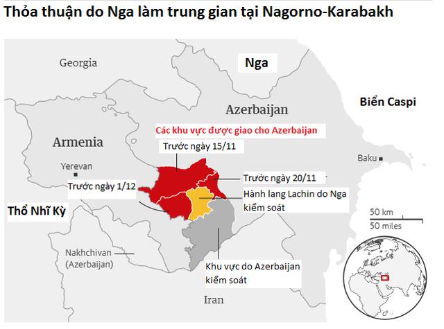Ông Putin cảnh báo Armenia: Rút khỏi thỏa thuận ngừng bắn là tự sát - 2