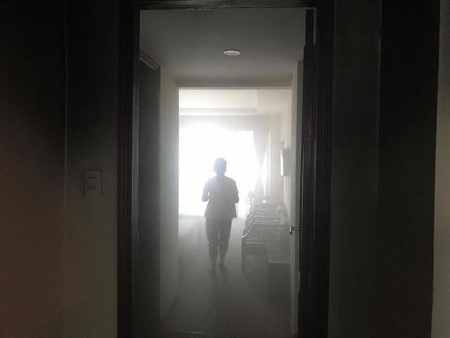 Cháy khách sạn Vinh Plaza, khách tháo chạy tán loạn - 4