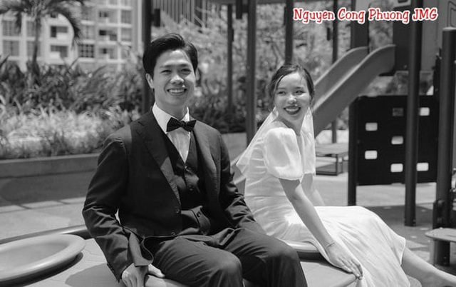 Lộ ảnh cưới lãng mạn của vợ chồng Công Phượng - 2