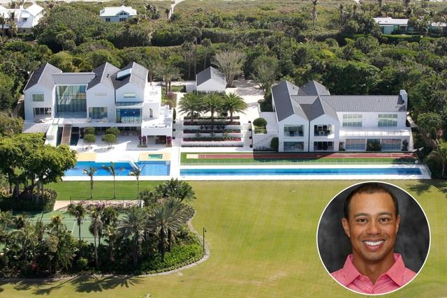 Choáng ngợp dinh thự đẳng cấp 1.200 tỷ đồng của huyền thoại golf thế giới - 1