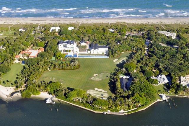 Choáng ngợp dinh thự đẳng cấp 1.200 tỷ đồng của huyền thoại golf thế giới - 3