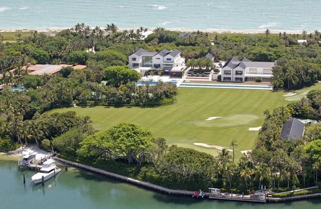 Choáng ngợp dinh thự đẳng cấp 1.200 tỷ đồng của huyền thoại golf thế giới - 5