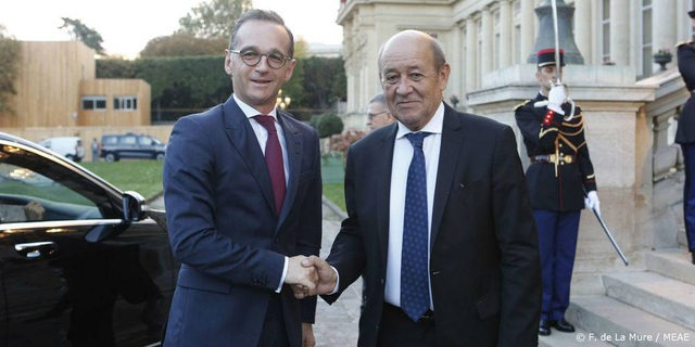 Ngoại trưởng Pháp, Đức kêu gọi Mỹ cùng bắt tay đối phó Trung Quốc - 1
