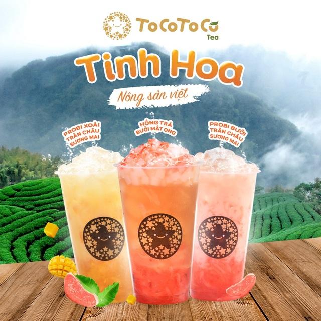 """ToCoToCo - thương hiệu trà sữa đầu tiên mang hơi hướng """"xanh - sạch - đẹp"""" - 2"""