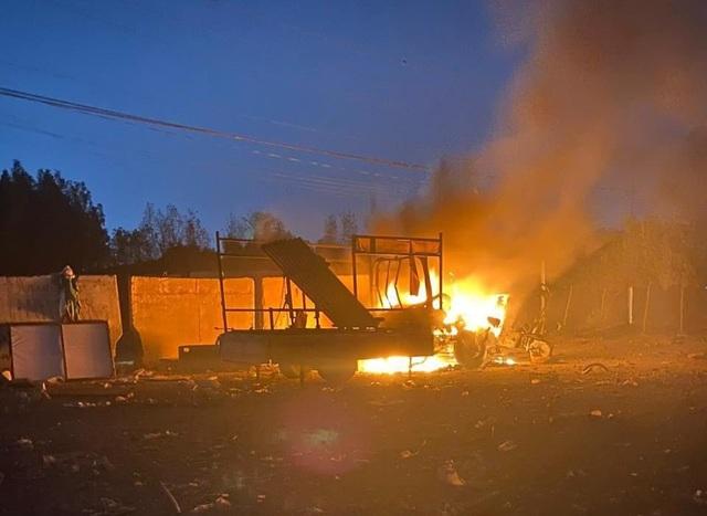 Tấn công bằng rocket gần Đại sứ quán Mỹ ở Iraq, 1 trẻ em thiệt mạng - 1