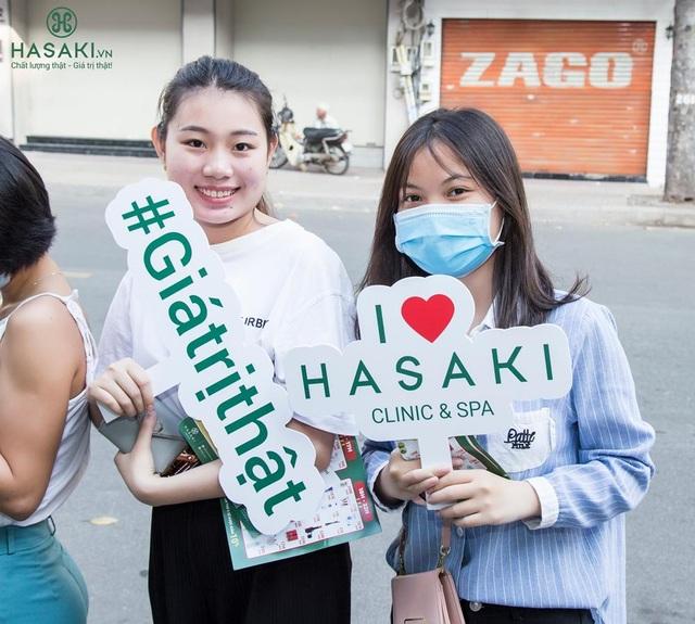 Hasaki khai trương chi nhánh 12 ngay trung tâm thành phố - 2
