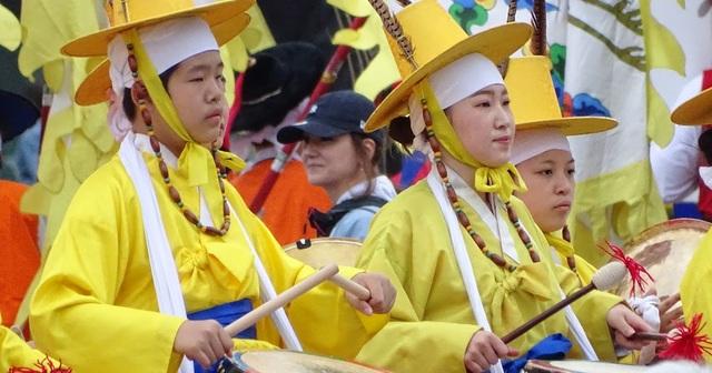 Lễ hội Shitennoji Wasso tại Nhật Bản: Tái hiện nhiều nền văn hoá Đông Á xưa - 2