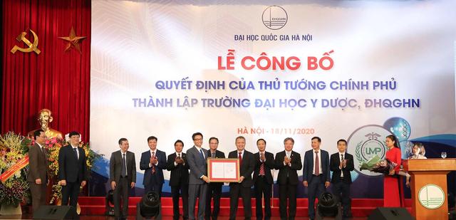 Công bố Quyết định thành lập trường Đại học Y Dược - ĐH Quốc gia Hà Nội - 1