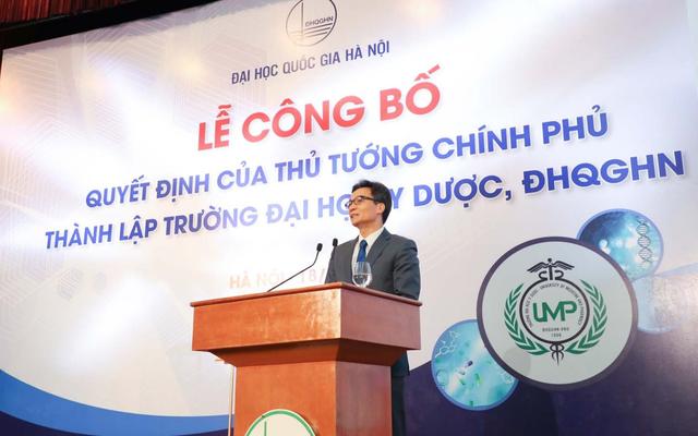 Công bố Quyết định thành lập trường Đại học Y Dược - ĐH Quốc gia Hà Nội - 3
