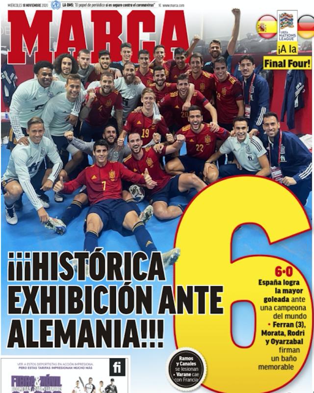 Báo chí thế giới sốc khi Đức thảm bại trước Tây Ban Nha - 2