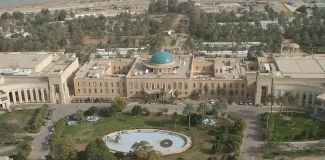 Tấn công bằng rocket gần Đại sứ quán Mỹ ở Iraq, 1 trẻ em thiệt mạng - 2