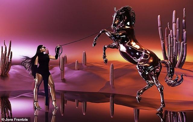Hot girl Megan Thee Stallion đắt show quảng cáo - 4