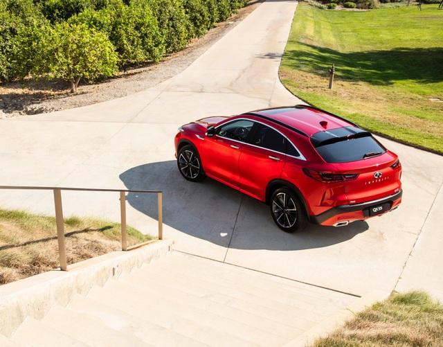 Infiniti QX55 có gì để cạnh tranh BMW X4 và Mercedes GLC Coupe? - 2