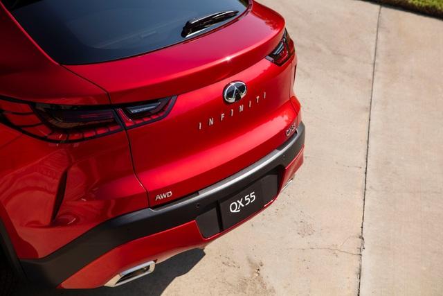 Infiniti QX55 có gì để cạnh tranh BMW X4 và Mercedes GLC Coupe? - 10