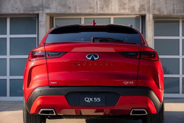 Infiniti QX55 có gì để cạnh tranh BMW X4 và Mercedes GLC Coupe? - 12