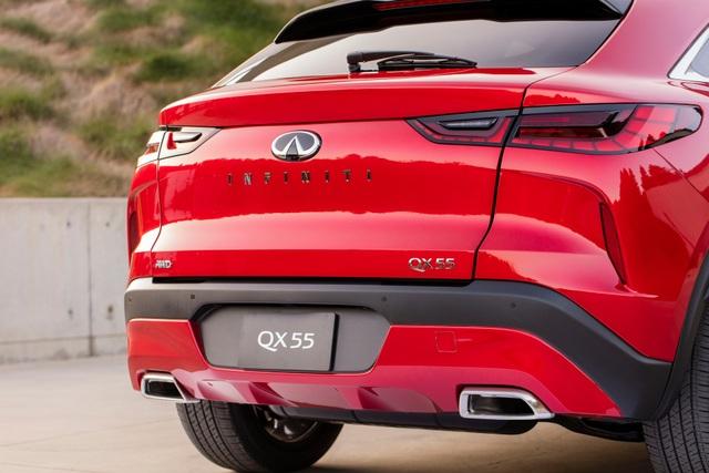 Infiniti QX55 có gì để cạnh tranh BMW X4 và Mercedes GLC Coupe? - 9