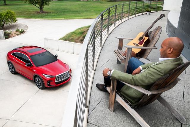 Infiniti QX55 có gì để cạnh tranh BMW X4 và Mercedes GLC Coupe? - 29