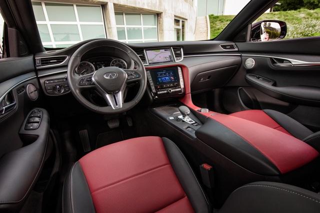 Infiniti QX55 có gì để cạnh tranh BMW X4 và Mercedes GLC Coupe? - 3