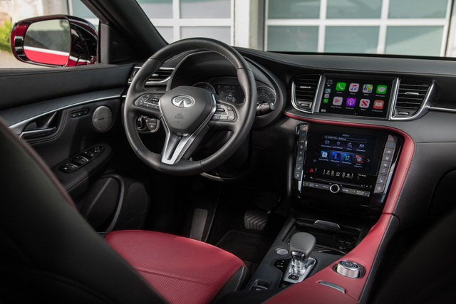 Infiniti QX55 có gì để cạnh tranh BMW X4 và Mercedes GLC Coupe? - 19
