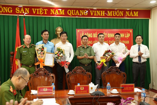 Biên Hòa thành lập Đội xung kích phòng chống tội phạm - 1