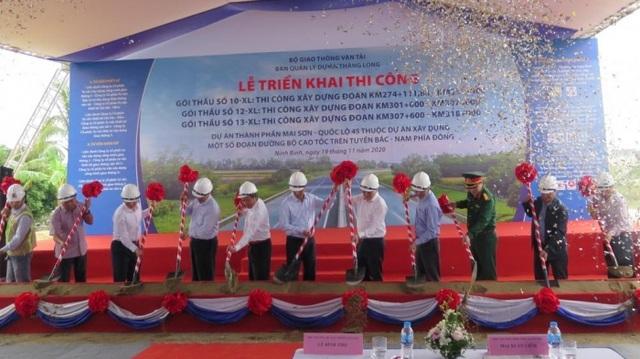 Khởi công 3 gói thầu cao tốc Bắc - Nam, dự án kênh đào hơn 170 triệu USD - 1