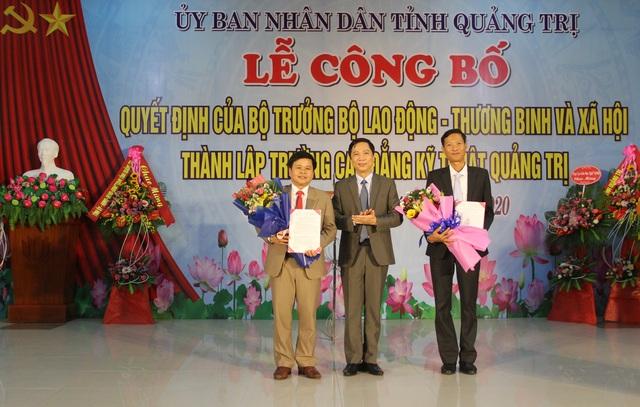 Trường Cao đẳng Kỹ thuật Quảng Trị chính thức thành lập - 2