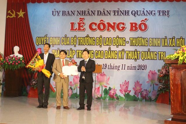 Trường Cao đẳng Kỹ thuật Quảng Trị chính thức thành lập - 1