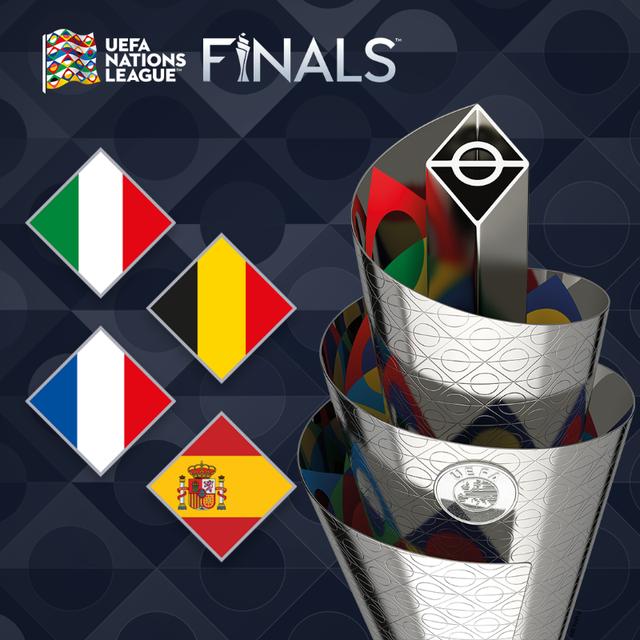 Italia, Pháp, Bỉ và Tây Ban Nha tranh ngôi vô địch UEFA Nations League - 1