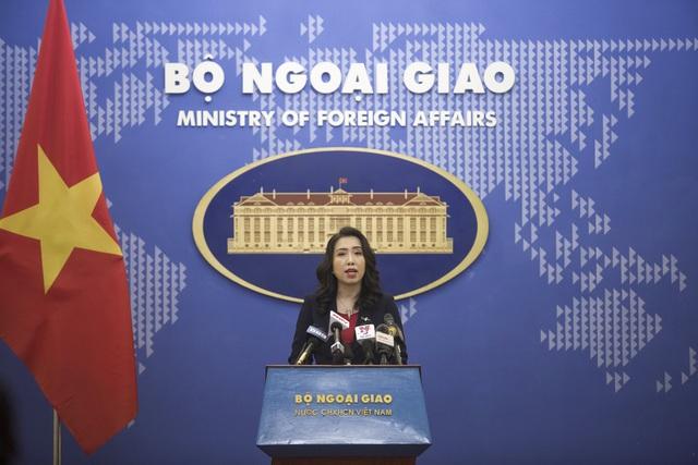 """Bộ Ngoại giao lên tiếng việc """"quan hệ VN–Campuchia ảnh hưởng vì Trung Quốc"""" - 1"""