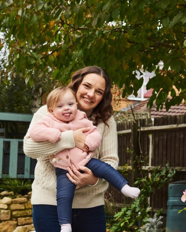 Sau 20 lần sảy thai, mẹ 5 con hạnh phúc đón em bé thứ 6 mắc hội chứng Down - 1