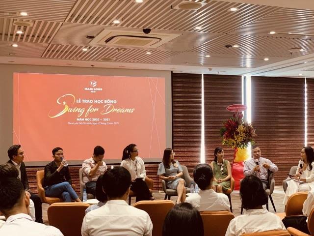 """Tập đoàn Nam Long trao học bổng thường niên """"Swing For Dreams"""" 2020 - 4"""