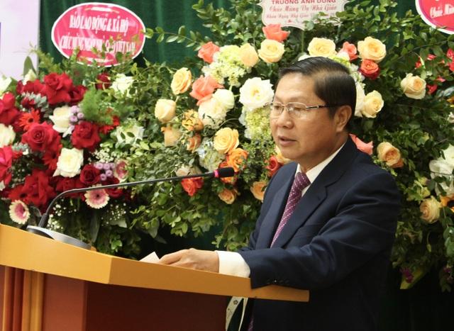 Thứ trưởng Bộ LĐ-TBXH chúc mừng 20/11 tới các nhà giáo dạy nghề